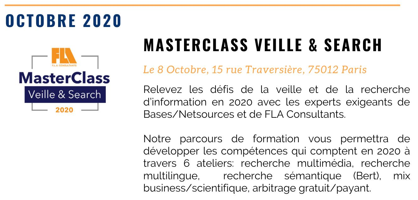 NEWSLETTER MASTERCLASS