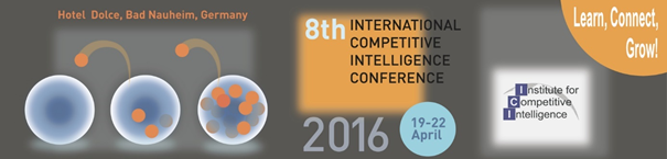 international competitive intelligencce conference