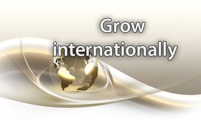 Grow internationally